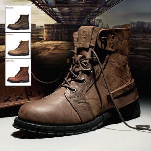 バイクブーツ  メンズ ショートブーツ ブーツ ワークブーツ 靴  本革  メンズブーツ  エンジニアブーツ バイクブーツ ミリタリーブーツ マウンテンブーツ|rezayastore