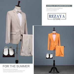 セットアップ メンズ スーツ フォーマル   ワンボタン  スリム  テーラード ビジネススーツ スラックス 通  勤 結婚式 紳士服|rezayastore