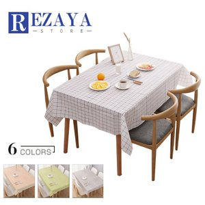 テーブルクロス 食卓カバー デスクマット テーブルマット 防水   PVC製   長方形   撥油    テーブルカバー 汚れ防止 傷防止 おしゃれ 大人気 滑り止め|rezayastore