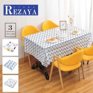 テーブルクロス 食卓カバー デスクマット テーブルマット   防水  長方形  プリント  テーブルカバー 汚れ防止 傷防止 おしゃれ 大人気 滑り止め|rezayastore