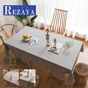 テーブルクロス 食卓カバー デスクマット テーブルマット   北欧風    シンプル  おしゃれ    テーブルカバー 汚れ防止 傷防止 おしゃれ 大人気 滑り止め|rezayastore