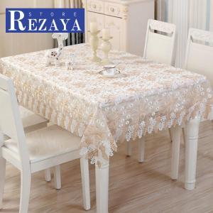 テーブルクロス 食卓カバー デスクマット テーブルマット   レース   刺繍   欧米風   テーブルカバー 汚れ防止 傷防止 おしゃれ 大人気 滑り止め|rezayastore