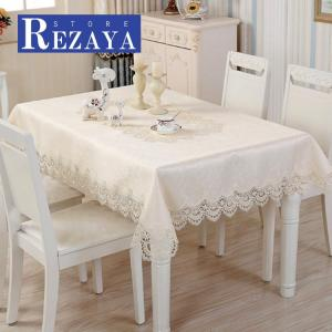 テーブルクロス 食卓カバー デスクマット テーブルマット   レース   撥油   欧米風   テーブルカバー 汚れ防止 傷防止 おしゃれ 大人気 滑り止め|rezayastore