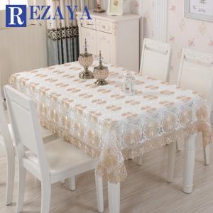 テーブルクロス 食卓カバー デスクマット テーブルマット   レース  防水     欧米風     テーブルカバー 汚れ防止 傷防止 おしゃれ 大人気 滑り止め|rezayastore