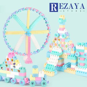 おもちゃ 積み木 ブロック 知育パズル 赤ちゃん 1-6歳   誕生日プレゼント プレゼント パズル はめ込み 形合わせ 学習 発育 人気 立体パズル 創造力|rezayastore