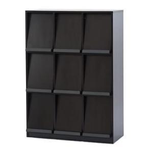 【商品説明】 跳ね上げ式扉のフラップシェルフ。扉部分に本や雑誌をディスプレイできます。収納力豊富、背...