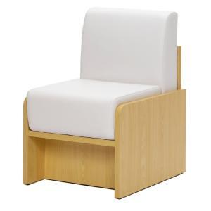 パネル脚ソファ 1人掛け  / ホワイト RFPLSF-1WH[代引き不可] アールエフヤマカワ RFyamakawa  オフィス 会議室 商談  応接用  sofa|rf-yamakawa-y