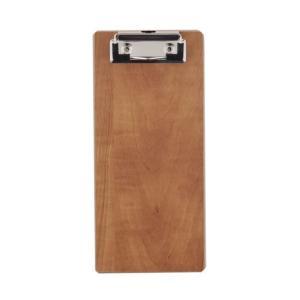 【商品説明】 ナチュラルな木材繊維素材MDF製の伝票挟み。表面コーティングで耐久性にも優れています。...