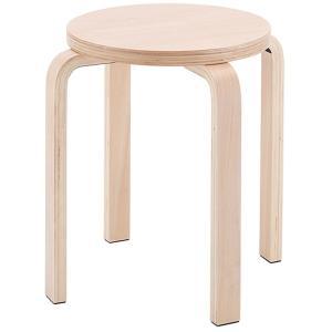 木製丸椅子 / ナチュラル (1脚入) Z-SHSC-1  スタックチェア いす 丸椅子 丸イス ラウンドチェア 待合 スツール 椅子 北欧  丸イス|rf-yamakawa-y