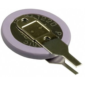 パナソニック コイン充電池 ML1220 縦型端子付き  ☆ゆうパケット可(210円)|rfad