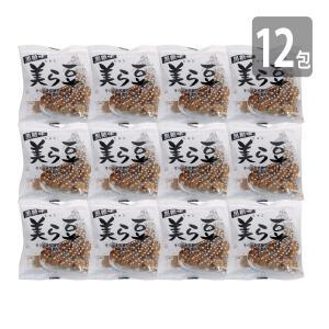 黒糖菓子 沖縄土産 そら豆 黒糖 豆 美ら豆(10gx12入)メール便 送料無料  黒糖そら豆