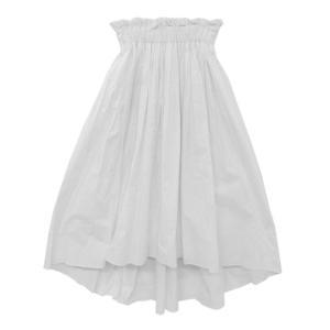 ダブルスタンダードクロージング 綿 タイプライタースカート・サーキュラースカート/36/ホワイト/Double Standard Clothing/209669|rfstore