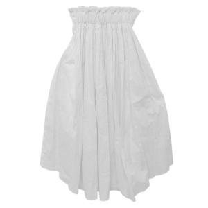 ダブルスタンダードクロージング 綿 タイプライタースカート・サーキュラースカート/36/ホワイト/Double Standard Clothing/209669|rfstore|02