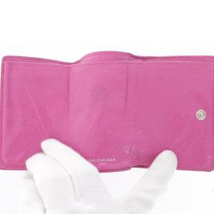 バレンシアガ クラシックミニウォレット・3つ折り財布/4774/ピンク/BALENCIAGA/RF4/b191003/311697|rfstore|06