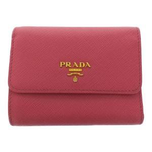 プラダ 3つ折り財布 メタルロゴ/1MH840/PEONIA(ピンク)/PRADA 翌日配送可/b200218/330565|rfstore