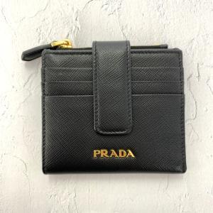 プラダ サフィアーノ 2つ折り財布/1ML047/NERO(ブラック)/PRADA 翌日配送可/RF1//b210811/404191 rfstore