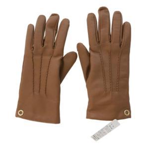 3bd864c0e668 未使用・コーチ レザーグローブ手袋 7・1/2/F32700/ブラウン/COACH/RF1/翌日配送可/b190510/289360