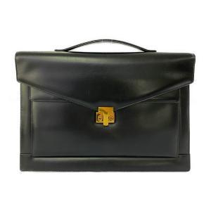 ティファニー ティファニーT・ボックスカーフレザーブリーフケース・ビジネスバッグ/ブラック/TIFFANY & Co. 翌日配送可/b211017/412551 rfstore