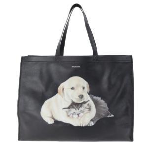 超美品・バレンシアガ EVERYDAY・Puppy And Kitten・トートバッグ ドック ビックサイズ/544309.1060/BALENCIAGA/RF4/b191019/313250|rfstore