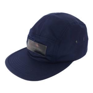 シュプリーム 18AW Patent Leather Patch Camp Cap・キャンプキャップ帽子/ネイビー/Supreme/RF1/b191207/321523 rfstore