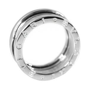 ブルガリ ビーゼロワン/B-ZERO1・3バンドリング・指輪/K18WG/750-8.7g/12号/#52/ホワイトゴールド/BVLGARI 翌日配送可/h190216/278174|rfstore