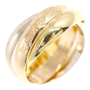 カルティエ トリニティドゥカルティエ・リング・指輪/K18Y+W+P/750,3カラー-7.4g/10号/#50/3カラー/Cartier/RF4/h191129/318696|rfstore