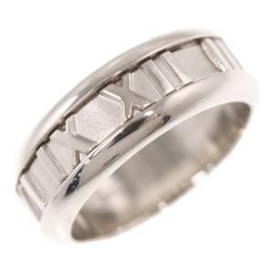 ティファニー アトラス・リング・指輪/K18WG/750-8.4g/10号/#50/ホワイトゴールド/TIFFANY & Co./RF4/h191207/320262 rfstore