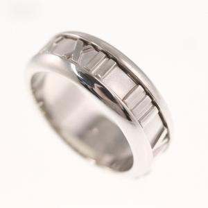 ティファニー アトラス・リング・指輪/K18WG/750-8.4g/10号/#50/ホワイトゴールド/TIFFANY & Co./RF4/h191207/320262 rfstore 02