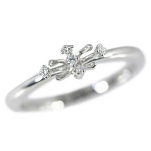 TASAKI(タサキ・田崎真珠) 5P・ダイヤモンドリング・指輪/K18WG/750-3.1g/0.04ct/11号/#51/TASAKI PEARL 翌日配送可/h190216/277993|rfstore