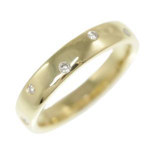 8P・ドッツ ダイヤモンドリング・指輪/K18YG/750-6.1g/0.15ct/14号/#54/イエローゴールド/RF2/h200117/325222|rfstore