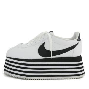 online store bc1a8 66ca2 コムデギャルソン ナイキ/NIKE・CORTEZ PLATFORM・コルテッツ プラットフォーム スニーカー靴/BV0070-100/COMME  des GARCONS/217590