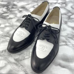 シャネル ヴィンテージシャネル サドル オックスフォードシューズ 靴/X01011CO229/371/2/ブラック/ホワイト/CHANEL 翌日配送可/b210927/410078 rfstore