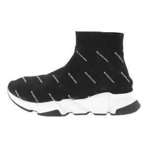 超美品・バレンシアガ Fabric Sneaker Rubber・スニーカー靴 スピードトレーナー #41/506336/41/ブラック/BALENCIAGA/RF1/b191015/313412|rfstore
