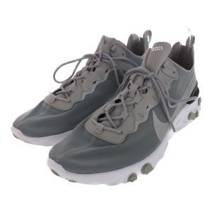 ナイキ REACT ELEMENT 55・スニーカー靴 リアクトエレメント/BQ6166-007/US 12(30cm相当)/グレー/NIKE/RF1/b200106/323505|rfstore