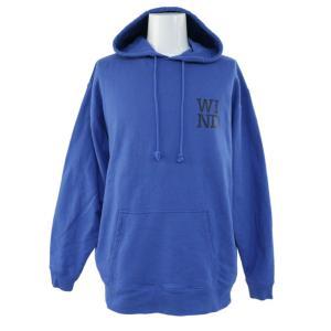 ウィンダンシー Saturdays NYC Hoodie・Hoodie フーディー スウェットパーカ-トップス/WDS-CS-56/L/ブルー/WIND AND SEA/b181206/225373|rfstore