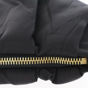 プラダ トラベルポーチ ナイロン/1N1407/ブラック(NERO)/ゴールド/PRADA/RF4/b191030/315487|rfstore|08