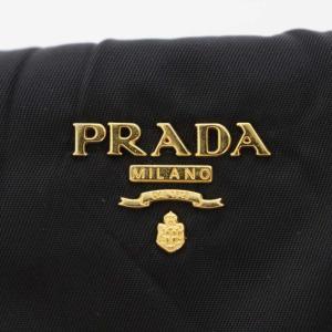 プラダ トラベルポーチ ナイロン/1N1407/ブラック(NERO)/ゴールド/PRADA/RF4/b191030/315487|rfstore|09