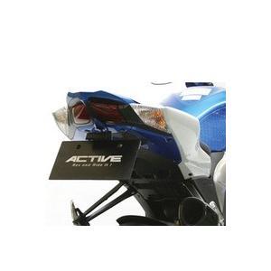 ACTIVE フェンダーレスキット ブラック SUZUKI GSX-R1000 '09 〜 '13  LED ナンバー灯付 1155034|rgms
