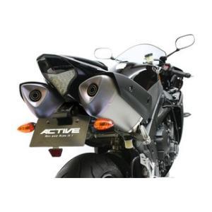 ACTIVE フェンダーレスキット ブラック LED ナンバー灯付 YZF-R1 '09 〜 '13  1153053|rgms