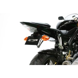 ACTIVE フェンダーレスキット ブラック LED ナンバー灯付 YZF-R6 '06 〜 '12 1153036|rgms