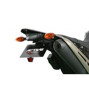ACTIVE フェンダーレスキット ブラック LED ナンバー灯付 WR250X '08 〜 '12 1153051|rgms
