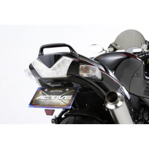 ACTIVE フェンダーレスキット ブラック LED ナンバー灯付 ZZR1400 '06 〜 '11 1157054|rgms