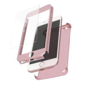 【未使用アウトレット】iPhone6/6s対応 360度フルカバーケース 液晶保護ガラス2枚付き OWL-CVIP625|rguildnet