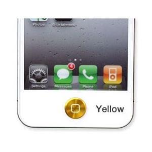 【未使用アウトレット】アルミニウムで出来た、iPhone、iPad用ホームボタンシール。HBA-AS001|rguildnet