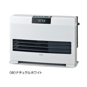 コロナ FF式温風ヒーターFF-WG4015Y W 標準タイプ カートリッジタンク式 ナチュラルホワイト|rh-sogo
