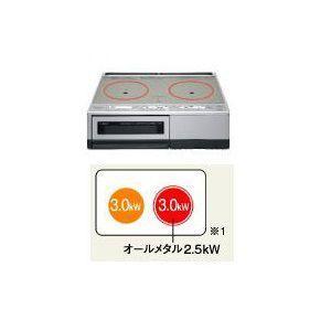 <送料無料>パナソニック IHクッキングヒーター 据置型 2口IH シングルオールメタル対応 【KZ-D60KM】|rh-sogo