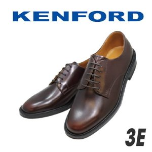 ビジネスシューズ メンズ リーガル ケンフォード KENFORD K422Lワイン3E 本革 プレーントゥー シンプル rhythm-shoes