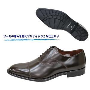 ビジネスシューズ メンズ リーガル KENFORD ケンフォード KB48AJ ダークブラウン3E靴 本革 ストレートチップ|rhythm-shoes|02