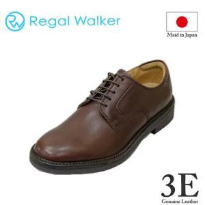 ウォーキングシューズ メンズ リーガルウォーカー101WAH ダークブラウン 幅広3E REGAL rhythm-shoes