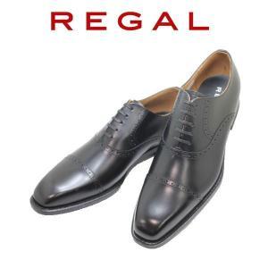 ビジネスシューズ リーガル REGAL ストレートチップ 122R黒 AL 本革紳士靴 |rhythm-shoes